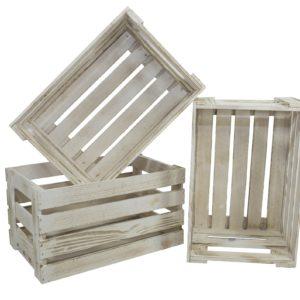 skrzynia drewniana biała rustykalna