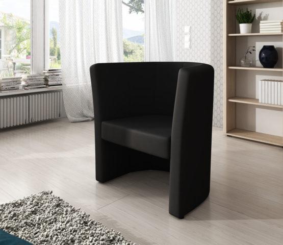 Fotel czarny