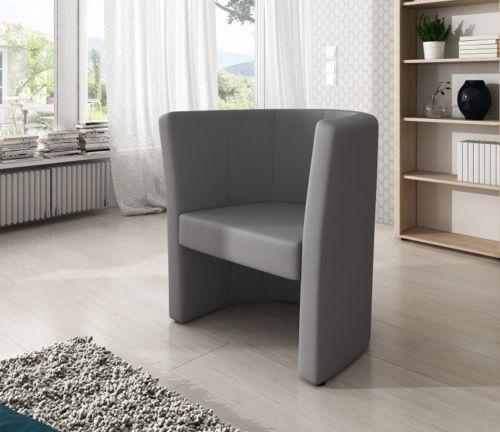 Fotel jasnyszary