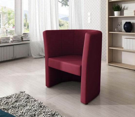 Fotel wisniowy