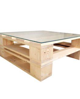 Szyba hartowana do stolika z palet